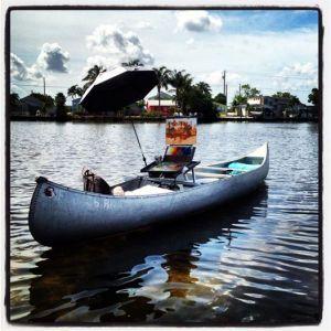 plein air canoe